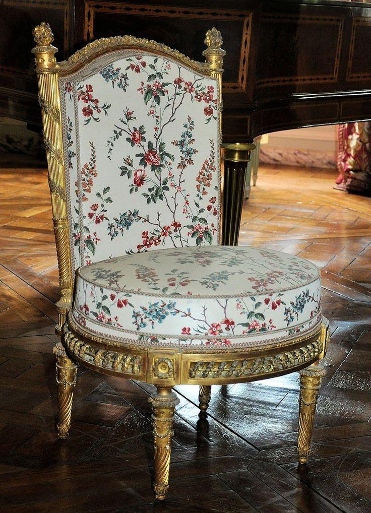 Petit Trianon - Chaise du Belvédère.