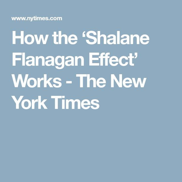 How the 'Shalane Flanagan Effect' Works - The New York Times