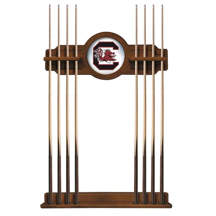 South Carolina Gamecocks Eight Stick Pool Cue Rack - Chardonnay - $199.99