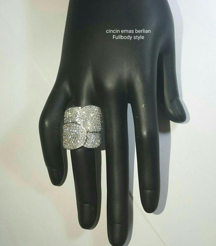 New Arrival🗼. Cincin Emas Berlian Fullbody Style💍.   🏪Toko Perhiasan Emas Berlian-Ammad 📲+6282113309088/5C50359F Cp.Antrika👩. https://m.facebook.com/home.php #investasi#diomond#gold#beauty#fashion#elegant#musthave#tokoperhiasanemasberlian
