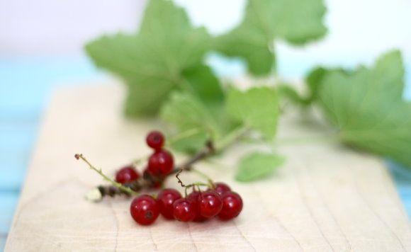red currant ♥ Johannisbeeren für selbstgemachte Fruchteiswürfel