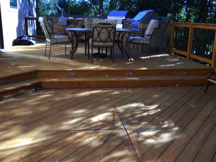 17 best images about deck ideas on pinterest deck design for Low elevation deck plans