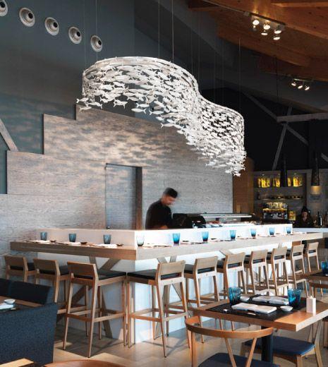 Scabetti   Installations   Shoal - Watatsumi, Barcelona #Shoal #Restaurant…