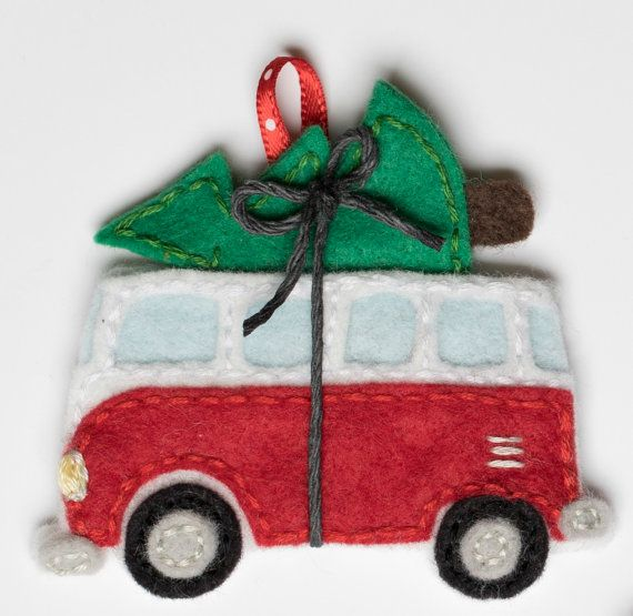 2361 best Felt Christmas ornaments images on Pinterest | Christmas ...