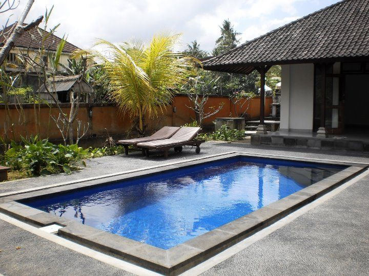 Villa NyuhKuning for sale lease. House for long term rent, located in nyuh kuning - ubud, about 10 minute from central ubud, build-ed on 4 are land with 3 bed rooms , living room, kitchen , bath room, garden and swimming pool, access into the house by motorbike about 100 meter from the street and the price is : * Rp 95.000.000 a year without furniture * Euro 150.000 for 22 years lease For more Information & Reservation, please contact : ubudroom@hotmail.com