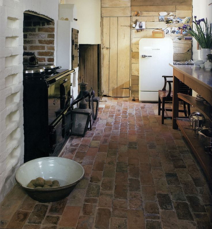 15 Best Our Quest For Brick Flooring Images On Pinterest