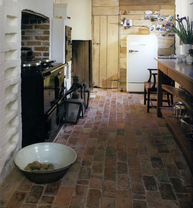 Brick Flooring Kitchen: 15 Best Our Quest For Brick Flooring Images On Pinterest