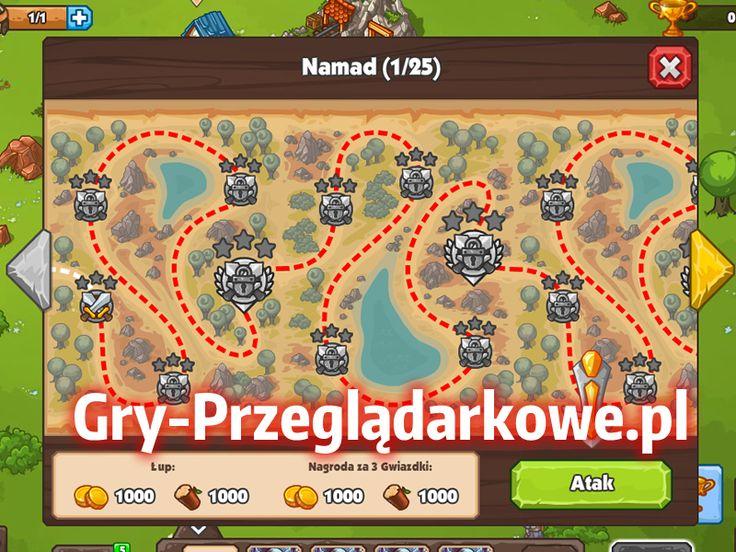 Trenujemy wojsko w grze przeglądarkowej Barbarians przeznacznej dla użytkowników portalu społecznościowego Nasza Klasa