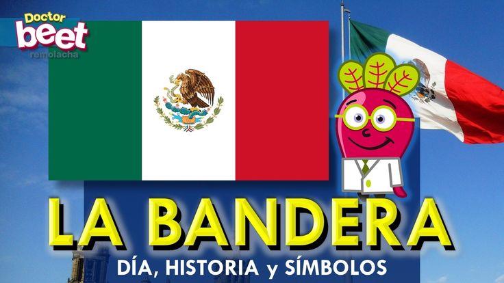 Bandera de México para niños