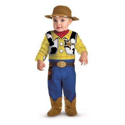 Woody Toy Story kostuum voor baby's