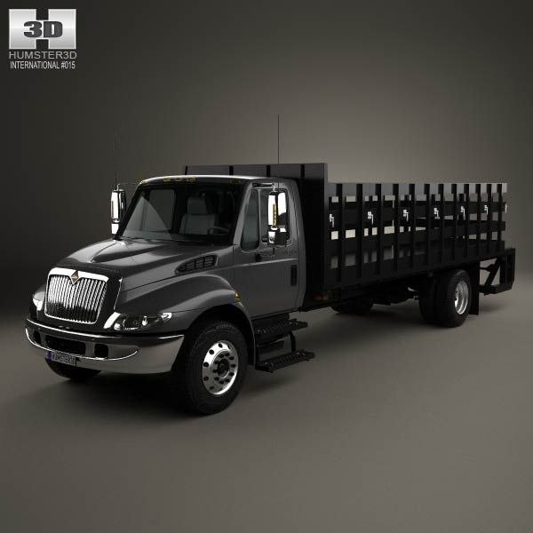 17 Best Images About International Truck 3D Models On