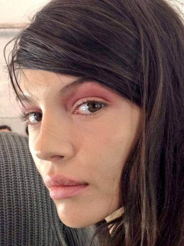 Beautiful rose makeup
