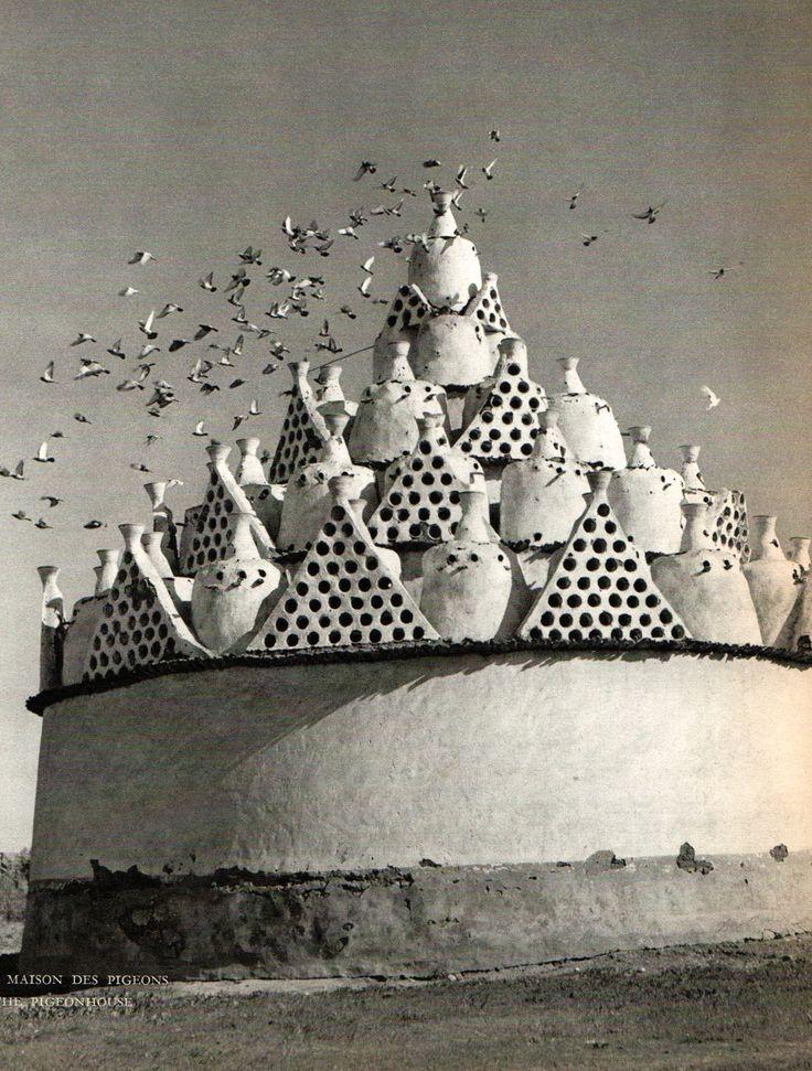 Paul Gayet-Tancrède (Samivel), Trésor de l'Egypte, Editions Arthaud, 1954. Pigeon house.