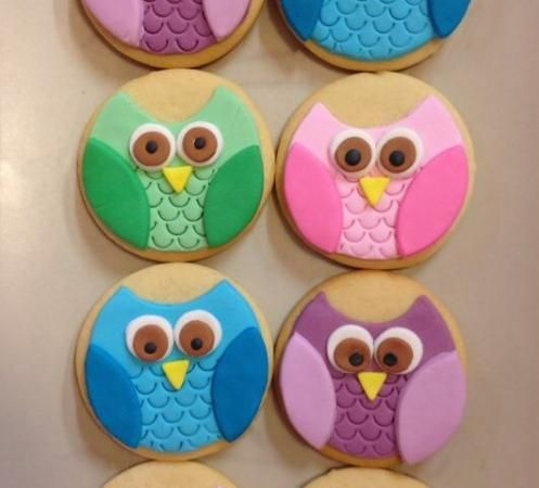 Galleta Decorada con fondant de @CookieCakeStC