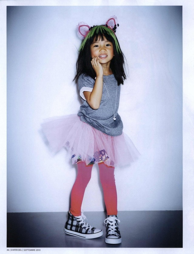 L'Officiel Enfant #kids #styling #cute #fashion #hipsters