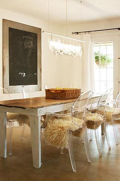 EN MI ESPACIO VITAL: Muebles Recuperados y Decoración Vintage: Comedores en todos los estilos { Dining rooms in different styles }