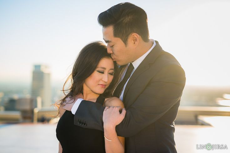 Downtown Los Angeles Engagement   Camila & Buniel