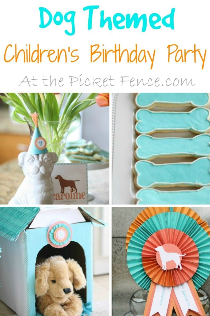 Best 25+ Dog themed parties ideas on Pinterest | Puppy party, Dog ...