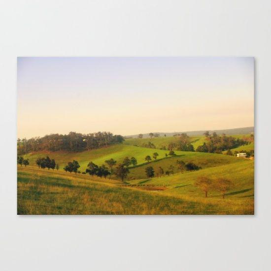Sunrise, Fields, Shadows, Light, Alpine Ranges, Australia.