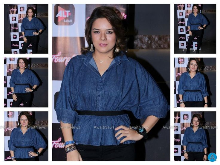 Udita Goswami Photos At Pre Launch Of Ekta Kapoor's Web Series Four Play