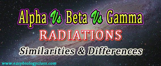 Difference between Alpha and Beta particles