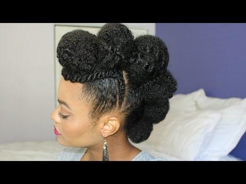 1032 best ebony hair images on pinterest natural hair princess mohawk updo feat jamaican mango and lime youtube pmusecretfo Images