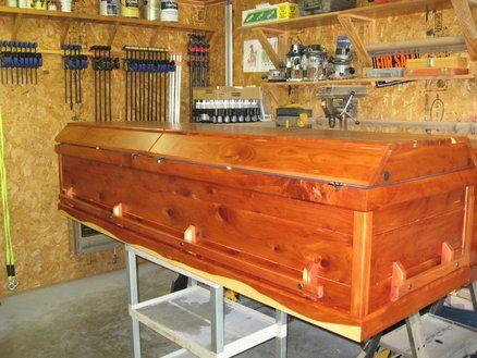 Eastern Red Cedar Casket