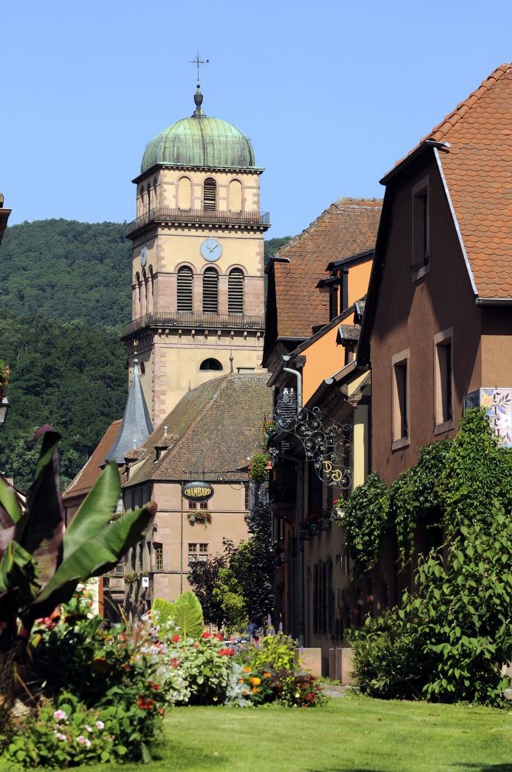Eglise Sainte-Croix à #Kaysersberg