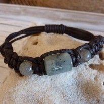 Lapis Woven Wristband