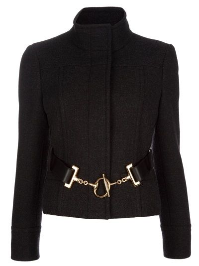 "GUCCI - Belt detail jacket  ""on sale"" $1347 (as seen in ""The Campaign"")"