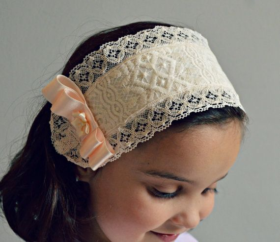 FABRIC HEADBAND. Accessories for dresses, gowns a rompers. Special day or celebration. Babies (boy or girl), toddlers and girls.