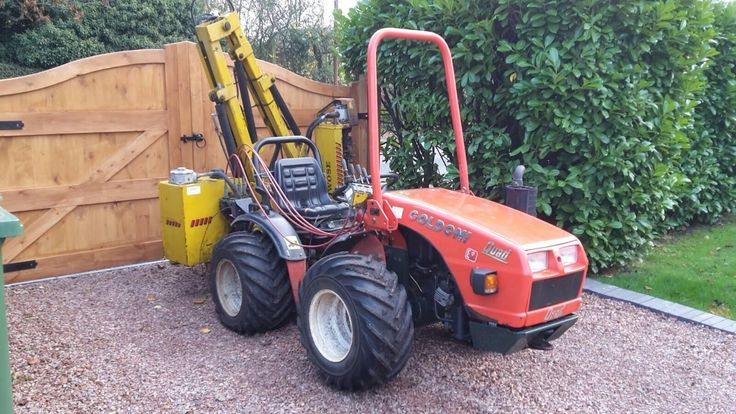 Goldoni Quad Forestry Alpine Vine Yard 4x4 Compact Tractor Kubota Iseki | eBay