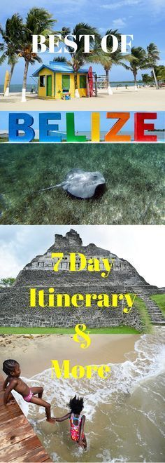Best of Belize 7 Day Itinerary & More Pin