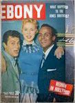 Harry Belafonte ,Janet Leigh and Tony Curtis  was shown on the cover of Ebony magazine (July 3, 1953). It was the first time a black person and two Caucasians were seen together on a U.S. magazine cover.
