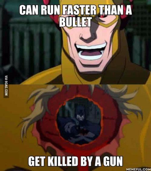Justice league: flash point paradox