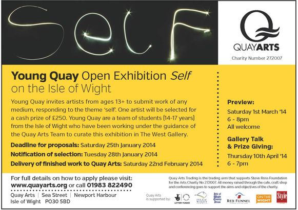 Open Exhibition at Quay Arts on the Isle of Wight  http://www.quayarts.org