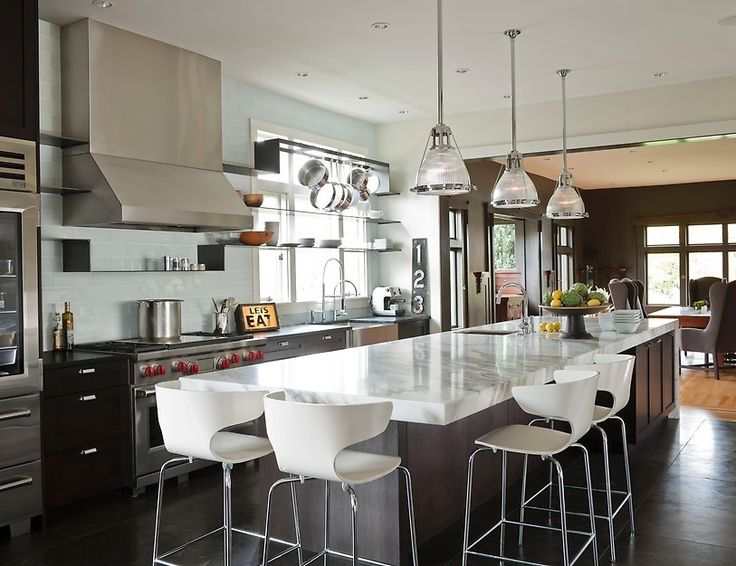 11 custom kitchen island with seating 49 impressive kitchen island design ideas tags - Custom Home Design Ideas