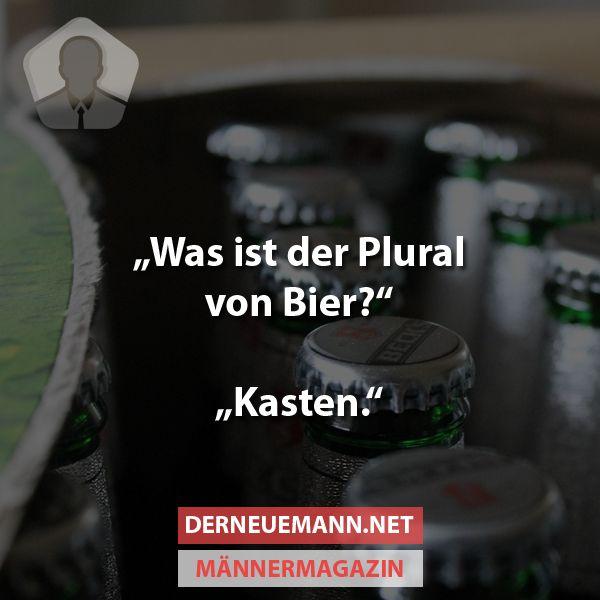 Plural von Bier? #derneuemann #humor #lustig #spaß