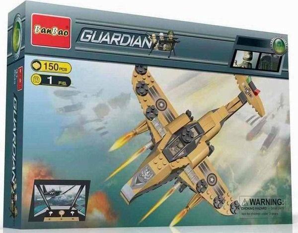 Banbao 8237 Военный самолет