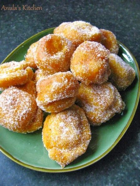 pumpkin fritters | #tried this - works great as fritter batter around apples & plantains! Just be sure to use RIPE plantains.