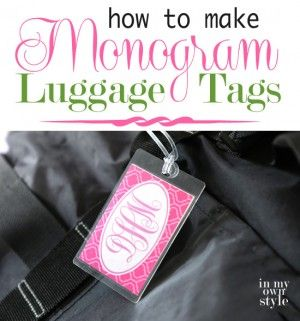 How-to-make-colorful-Monogram-Luggage-Tags - instructions for Microsoft Word also