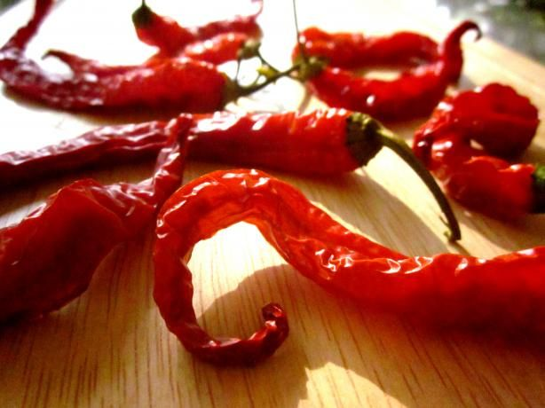 I've enjoyed  drying my peppers ..going to thread up a few as well ..they smell so good while drying in the oven as well .