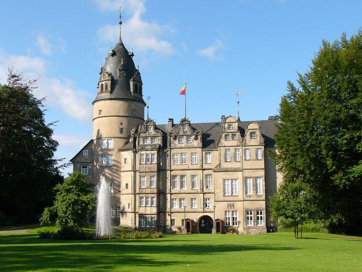 Residenzschloss des Hauses Lippe in Detmold, Kreis Lippe, Nordrhein-Westfalen.