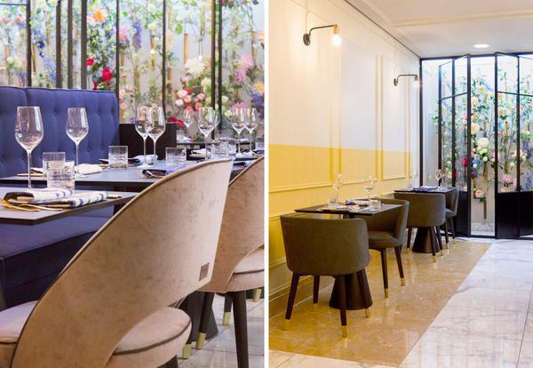 Il ristorante Fritz's Frau Franzi presso il boutique hotel The Fritz nel centro di Dusseldorf a poca distanza dalla Königsallee: ironia e umorismo per rivisitare l'ospitalità classica del passato