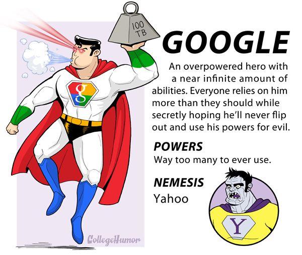 That's... actually a pretty good description of Google.