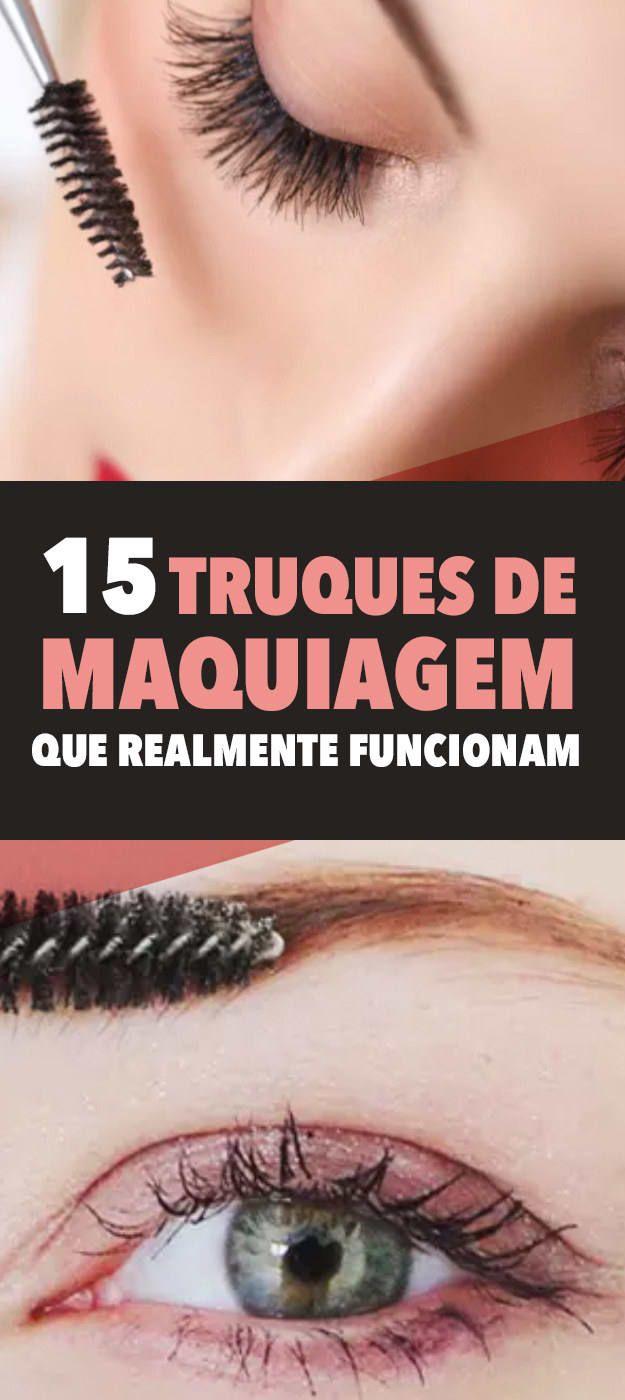15 truques fáceis de maquiagem que realmente funcionam