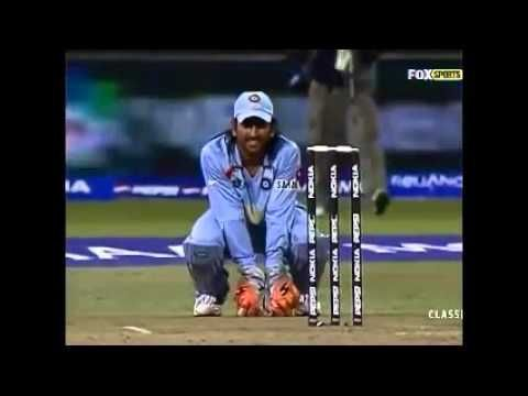 India Vs Pakistan T20 world cup 2007 super over win the match India