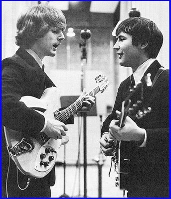 Roger McGuinn & David Crosby.   To everything turn...there is a season turn.....A time to be born....