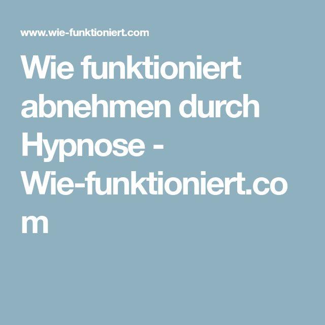 Wie funktioniert abnehmen durch Hypnose - Wie-funktioniert.com