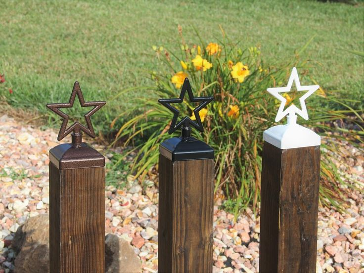 The 25 Best Fence Post Caps Ideas On Pinterest Backyard